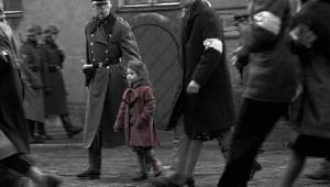The girl in the red coat from Schindler's List