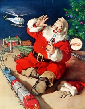 Coca-Cola® and Santa Claus.