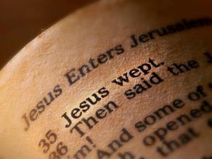 John 11:35 Jesus wept
