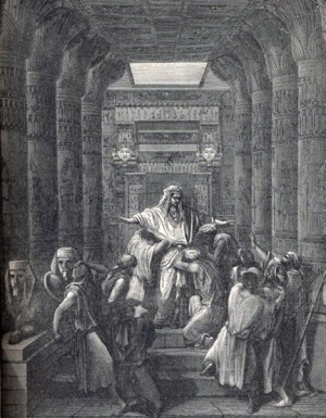 Gustave Doré Joseph Making Himself Known to his Brethren The Royal Line of Salvation