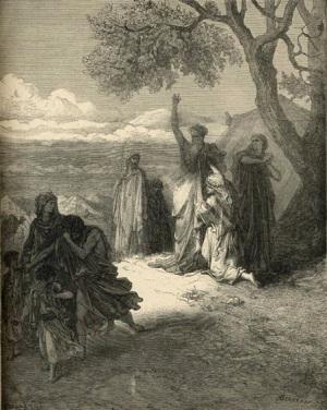 Gustave Doré Noah Cursing Ham The Royal Line of Salvation