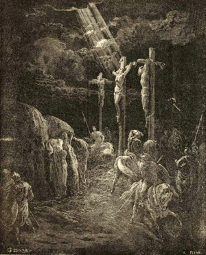 Gustave Doré The Crucifixion The Royal Line of Salvation