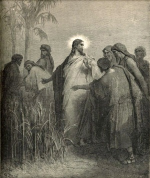 Gustave Doré The Disciples Picking Corn on the Sabbath The Royal Line of Salvation