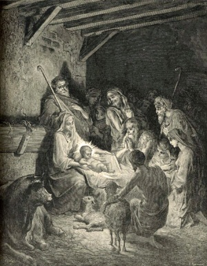 Gustave Doré The Nativity The Royal Line of Salvation
