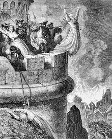 Gustave Dore, Massacre of the Vaudois of Merindol